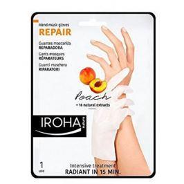 Iroha Repair Regenerační maska na ruce a nehty s broskvovým sérem 2 x 9 ml