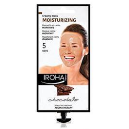 Iroha Moisturizing Hydratační aromaterapeutická krémová maska s kakaem a bambuckým máslem 25 ml