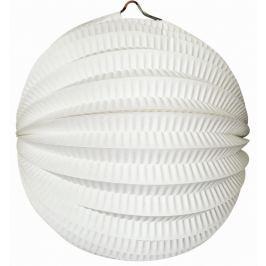 Lampion kulatý bílý 21 cm Drogerie