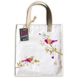 Ditipo Ptáček módní textilní taška 35 x 38 cm