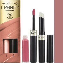 Max Factor Lipfinity Lip Colour rtěnka a lesk 016 Glowing 2,3 ml a 1,9 g