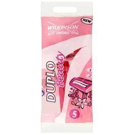 Wilkinson Lady Duplo Beauty jednorázový holící strojek 5 kusů