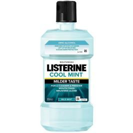 Listerine Cool Mint Mild ústní voda s esenciálními oleji bez alkoholu 500 ml