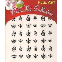 Absolute Cosmetics Nail Art samolepící nálepky na nehty NT006 1 aršík