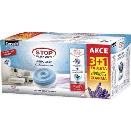 Ceresit Stop vlhkosti Aero 360 Relaxační levandule náhradní tablety 4 x 450 g