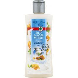 Bohemia Gifts & Cosmetics Med a Kozí mléko zvláčňující sprchový gel 250 ml