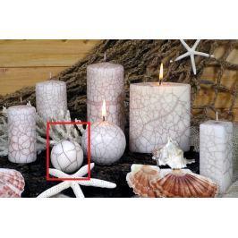 Lima Nevada svíčka bílá koule 60 mm 1 kus