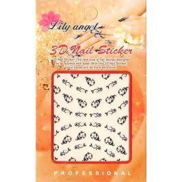 Lily Angel 3D nálepky na nehty 1 aršík 10100 B014