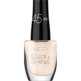 Astor Quick & Shine Nail Polish lak na nehty 620 Madeleine 8 ml