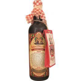 Bohemia Gifts & Cosmetics Babiččino víno k maceraci červené dárkové víno - šípek 750 ml