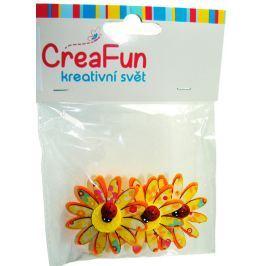 CreaFun Beruška na květince 3 kusy