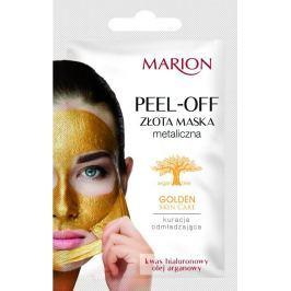 Marion Golden Skin Care Peel-Off omlazující zlatá metalická slupovací maska 6 g