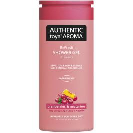 Authentic Toya Aroma Cranberries & Nectarine aromatický sprchový gel 400 ml
