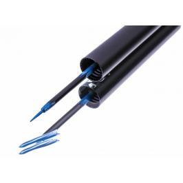 HairPlus FacEvolution Vyživující rychleschnoucí tekuté oční linky s obsahem růstového séra Modrá 1,5 ml