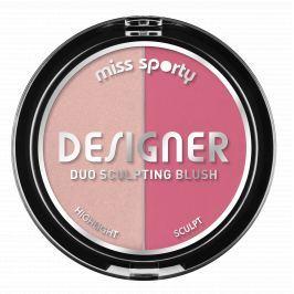 Miss Sporty Designer Duo Sculpting Blush tvářenka 200 9 g