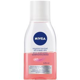 Nivea Caring Eye Make-up Remover dvoufázový olejový odličovač očí a make-upu 125 ml
