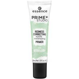 Essence Prime+ Studio Redness Correcting podklad pod make-up 30 ml