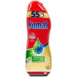 Somat Gold Gel s technologií hloubkového čištění gel na mytí nádobí v myčce 55 dávek 990 ml