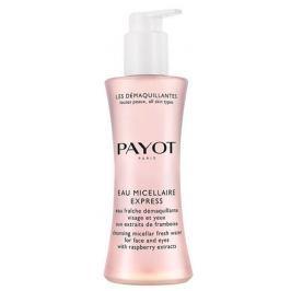Payot Les Démaquillantes Eau Micellaire Express osvěžující pleťová voda na odlíčení obličeje a očí s výtažky z malin 200 ml
