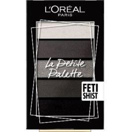 Loreal Paris La Petite Minipaletka oční stíny č. 06 Fetishist 5 x 0,8 g