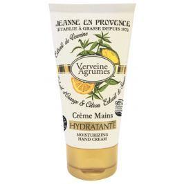 Jeanne en Provence Verveine Agrumes - Verbena a Citrusové plody hydratační krém na ruce 75 ml