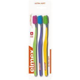 Elmex Swiss Made Ultra Soft ultra měkký zubní kartáček 3 kusy