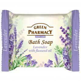 Green Pharmacy Levandule a Olej ze lněných semínek toaletní mýdlo 100 g