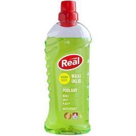 Real Maxi úklid Podlahy univerzální antistatický čisticí prostředek s aroma oleji na nerez, sklo, plasty 1 l