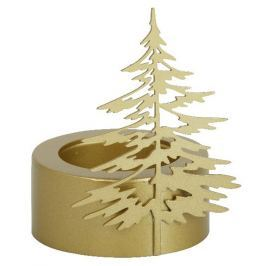 Yankee Candle Winter Trees - Zimní stromy svícen stromek malý na čajovou svíčku 79 x 57 x 57 mm