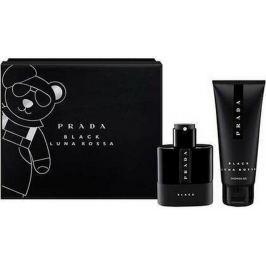 Prada Luna Rosa Black parfémovaná voda pro muže 50 ml + sprchový gel 100 ml, dárková sada