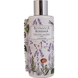 Bohemia Gifts & Cosmetics Botanica Levandule s extraktem z bylin tělové mléko 200 ml