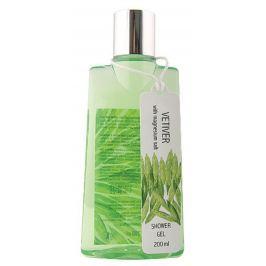 Bohemia Gifts & Cosmetics Vetiver a santalové dřevo s magneziovou solí 2v1 sprchový gel a šampon na vlasy 200 ml