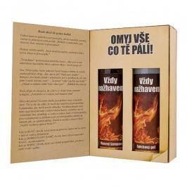 Bohemia Gifts Pro hasiče sprchový gel 200 ml + šampon na vlasy 200 ml, kniha kosmetická sada