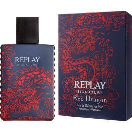 Replay Signature Red Dragon toaletní voda pro muže 50 ml