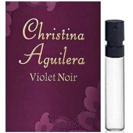 Christina Aguilera Violet Noir parfémovaná voda pro ženy 1,5 ml s rozprašovačem, vialka
