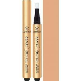 Dermacol Highlighting Click Concealer Touch & Cover rozjasňující korektor v peru 03 3 ml