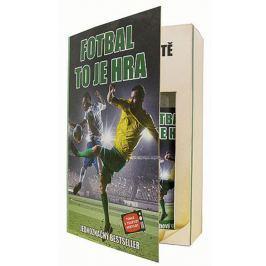 Bohemia Gifts & Cosmetics Pro fotbalistu Olivový olej sprchový gel 200 ml + šampon na vlasy 200 ml kniha dárková kazeta