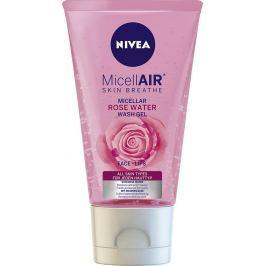 Nivea MicellAir čisticí micelární gel s růžovou vodou 150 ml