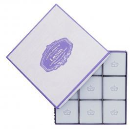 Castelbel Levandule mini mýdlo 9 x 25 g kosmetická sada