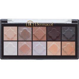 Dermacol Eyeshadow Palette Matt and Pearl paletka očních stínů 02