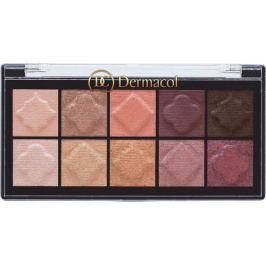 Dermacol Eyeshadow Palette Matt and Pearl paletka očních stínů 01