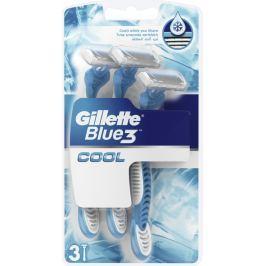 Gillette Blue 3 Cool 3 břitý holicí strojek pro muže 3 kusy