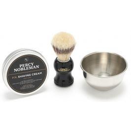 Percy Nobleman Krém na holení 100 g + štětka na holení + miska na holení kosmetická sada na holení pro muže