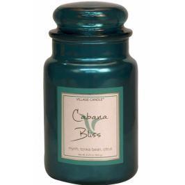 Village Candle Chvíle odpočinku - Cabana Bliss vonná svíčka ve skle 2 knoty 602 g