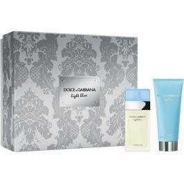 Dolce & Gabbana Light Blue toaletní voda pro ženy 25 ml + tělový krém 50 ml, dárková sada