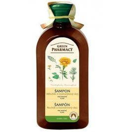 Green Pharmacy Měsíček a Rozmarýnový olej šampon pro normální - mastné vlasy 350 ml