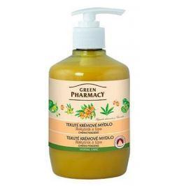 Green Pharmacy Rakytník a Lípa tekuté krémové ochraňujicí mýdlo 460 ml