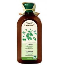 Green Pharmacy Kopřiva a Olej z kořenů lopuchu šampon pro normální vlasy 350 ml
