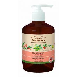 Green Pharmacy Olivový olej a Goji tekuté vyživující mýdlo 460 ml