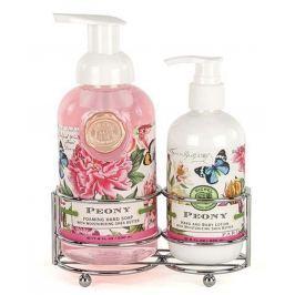 Michel Design Works Nezapomenutelná Paříž pěnící tekuté mýdlo na ruce 530 ml + mléko na ruce a tělo 236 ml, kosmetická sada